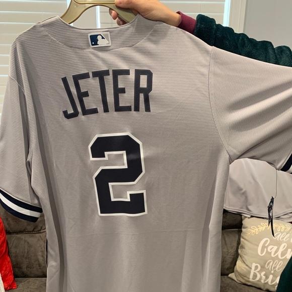 Derek Jeter 2020 hall of fame induction jersey (M)